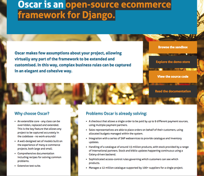 Oscar Commerce Framework